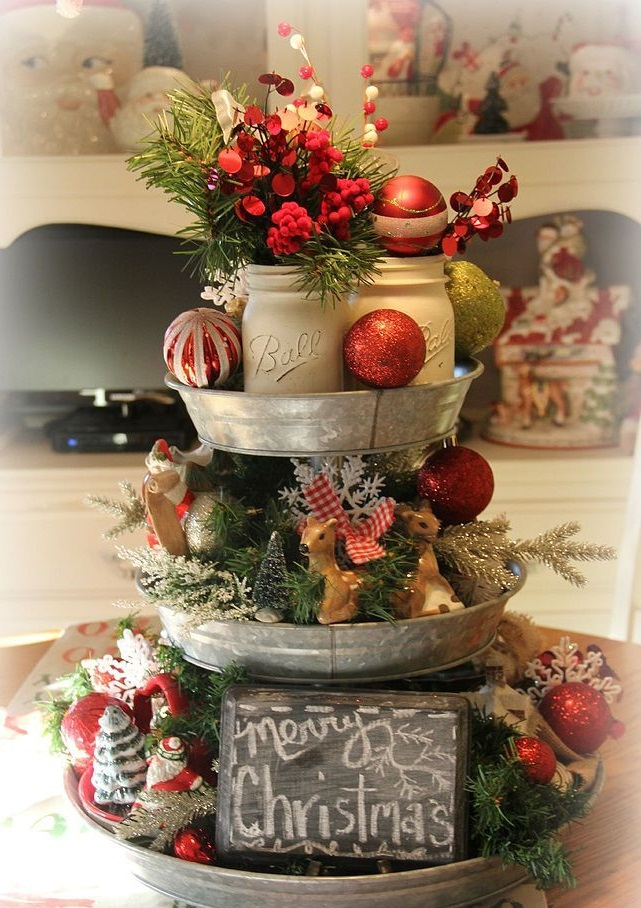 cake-plate.-4 60+ Creative Ways to Decorate Your Home for This Christmas