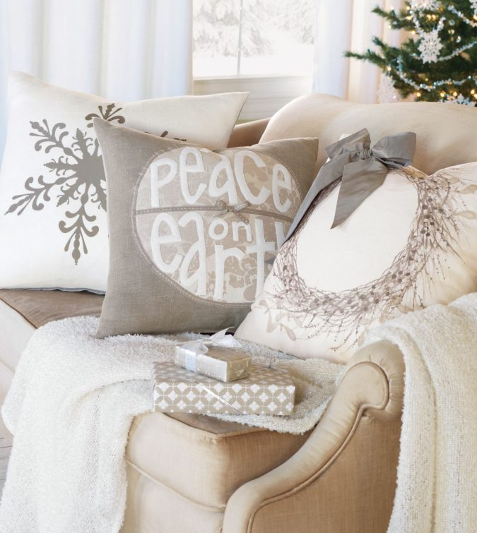 christmas-pillows.-675x755 70+ Brilliant Ideas for This Year Christmas Decoration