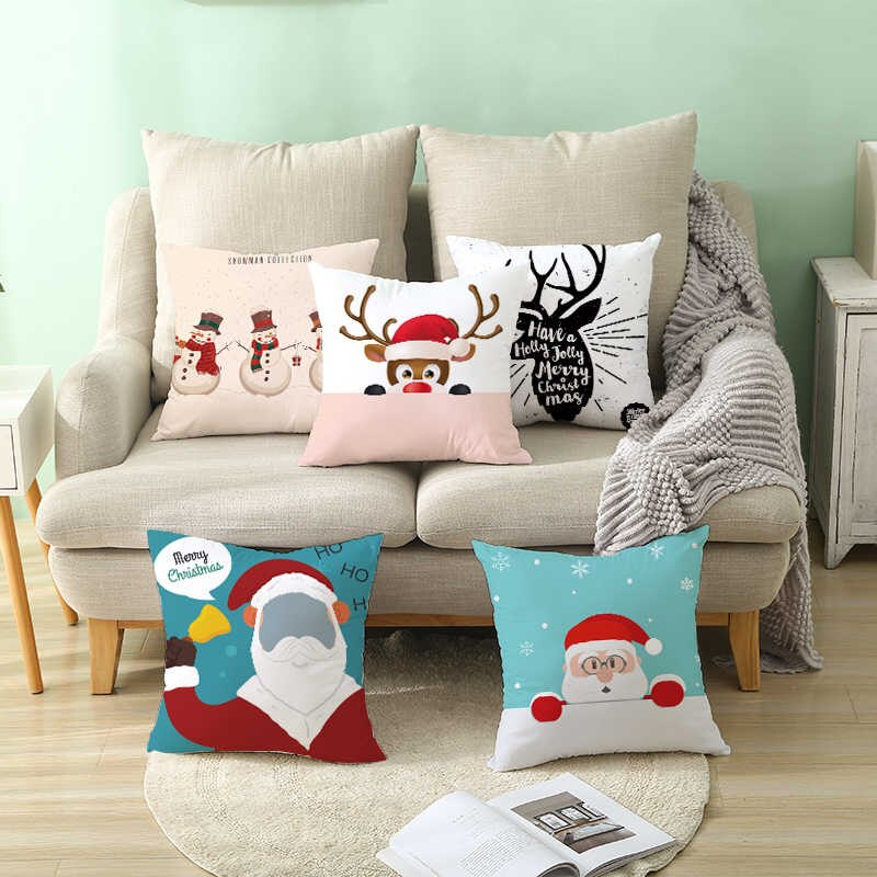 christmas-pillows..-3 70+ Brilliant Ideas for This Year Christmas Decoration