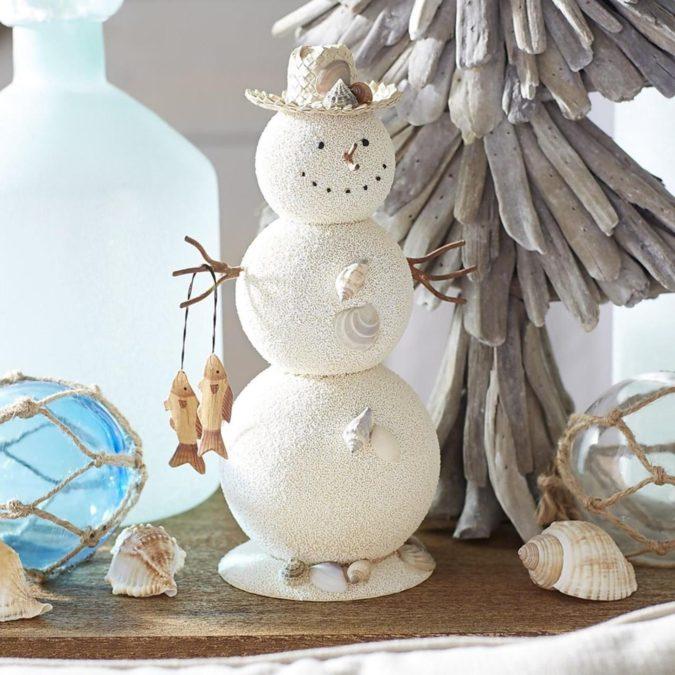 coastal-decoration-idea-675x675 Give Your Home a New Festive Christmas with +90 Themes & Ideas