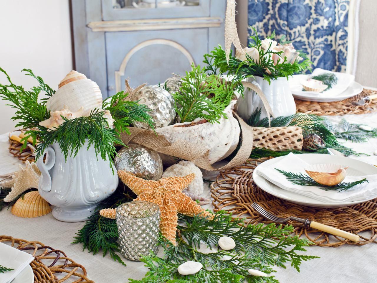 coastal-decoration-idea..-1 Give Your Home a New Festive Christmas with +90 Themes & Ideas