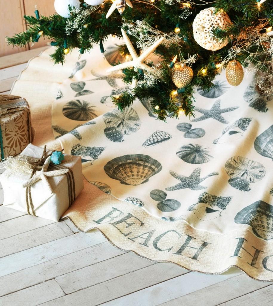 coastal-decoration-idea.. Give Your Home a New Festive Christmas with +90 Themes & Ideas