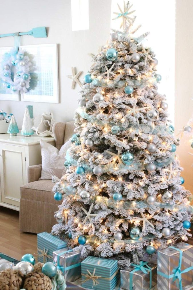 coastal-decoration.-1-675x1013 Give Your Home a New Festive Christmas with +90 Themes & Ideas