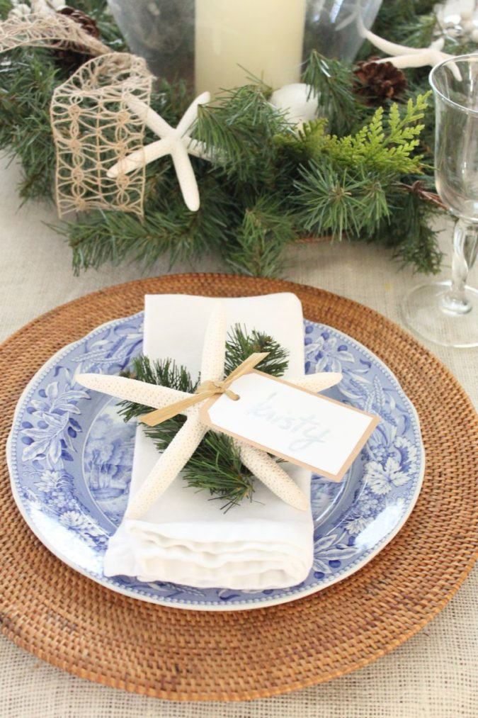 coastal-decoration.-3-675x1013 Give Your Home a New Festive Christmas with +90 Themes & Ideas