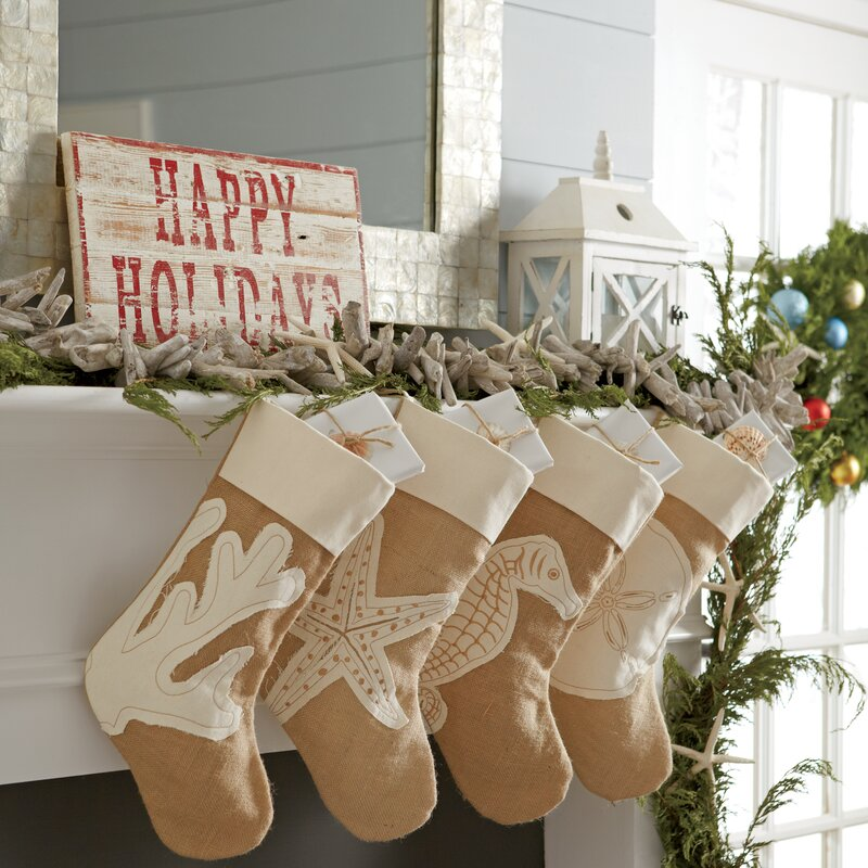 coastal-decoration..-5 Give Your Home a New Festive Christmas with +90 Themes & Ideas
