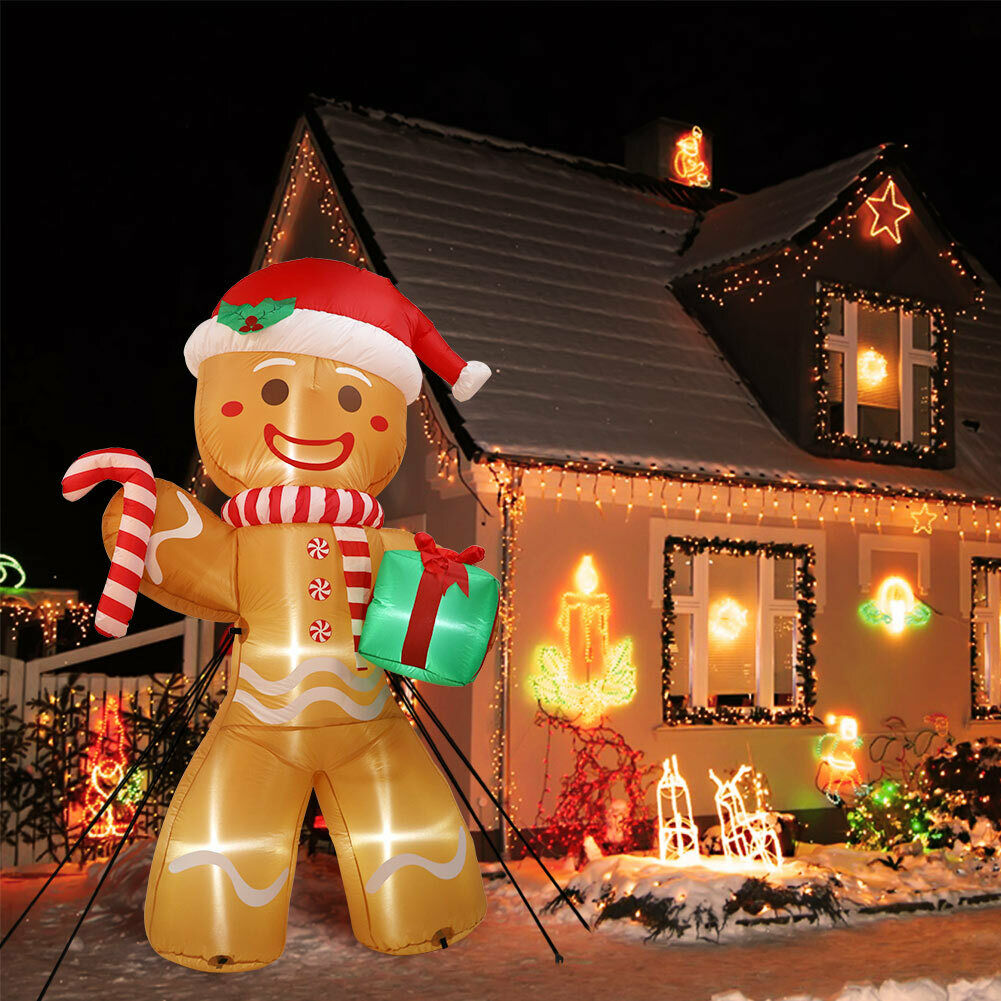 colored-decorations-outdoors. How to Bring Joy to Your Home at This Christmas Season