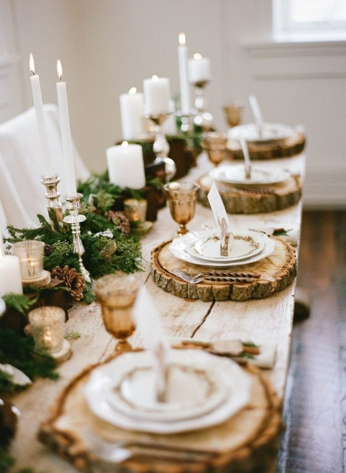 colorful-centerpiece..-675x922 70+ Impressive Christmas Decorations to Do Yourself in 2021
