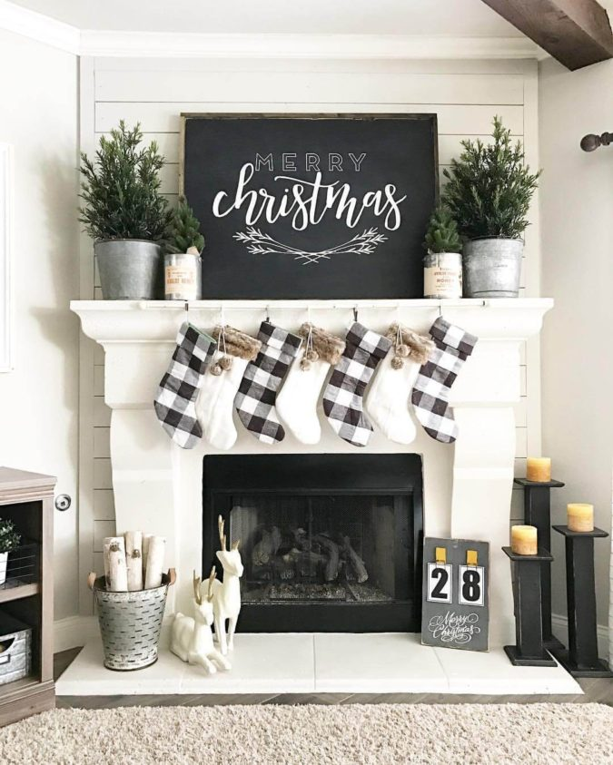 country-or-gingham-stockings.-2-675x843 60+Untraditional Christmas Decorations to Transform Your Home Look This Year