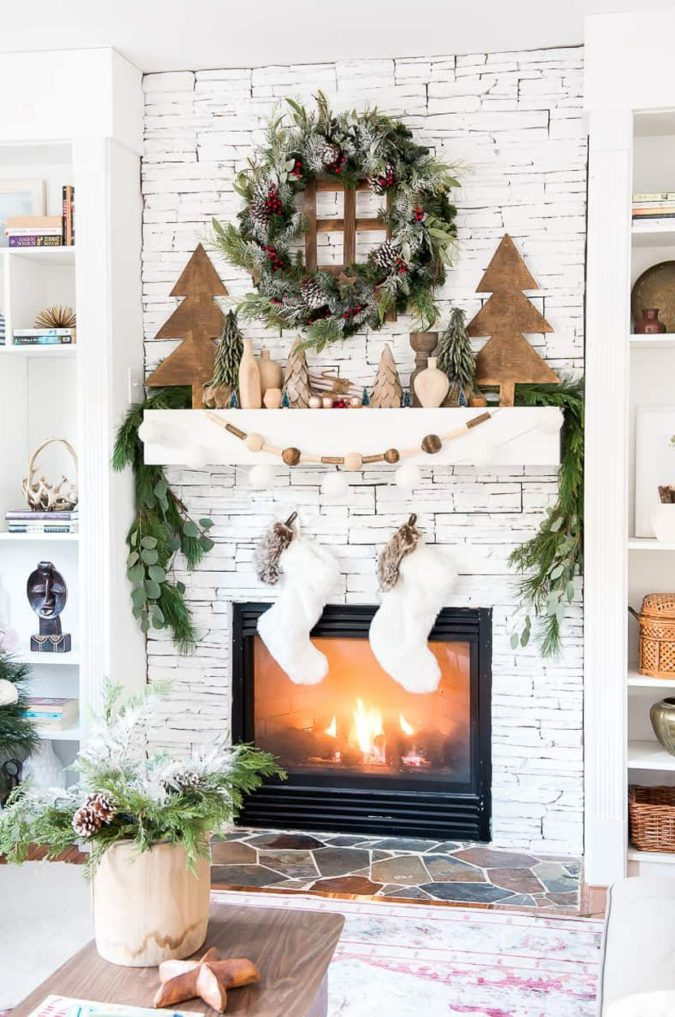 country-or-gingham-stockings..-675x1017 60+Untraditional Christmas Decorations to Transform Your Home Look This Year