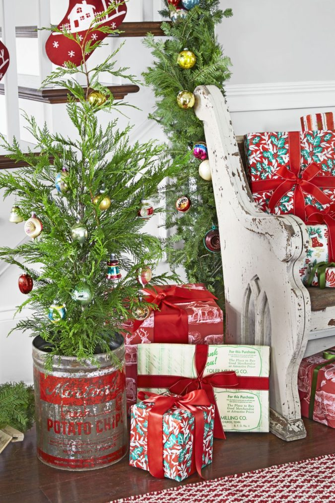 countryside-decoration-2-675x1013 60+Untraditional Christmas Decorations to Transform Your Home Look This Year