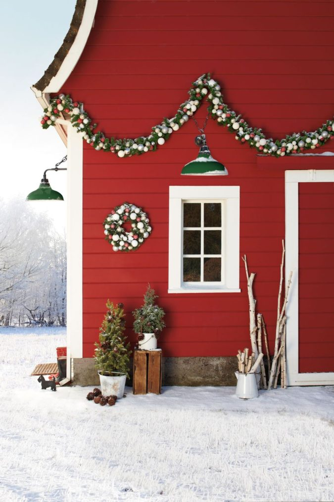 countryside-decoration-675x1013 60+Untraditional Christmas Decorations to Transform Your Home Look This Year