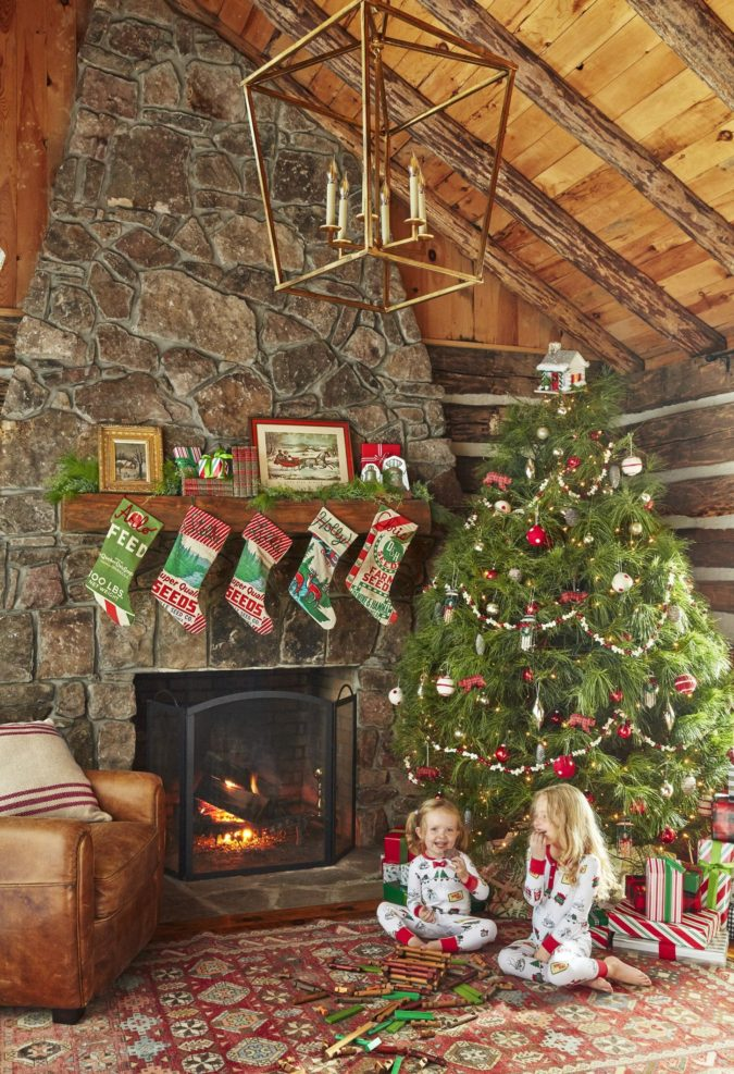 countryside-decoration..-675x987 60+Untraditional Christmas Decorations to Transform Your Home Look This Year