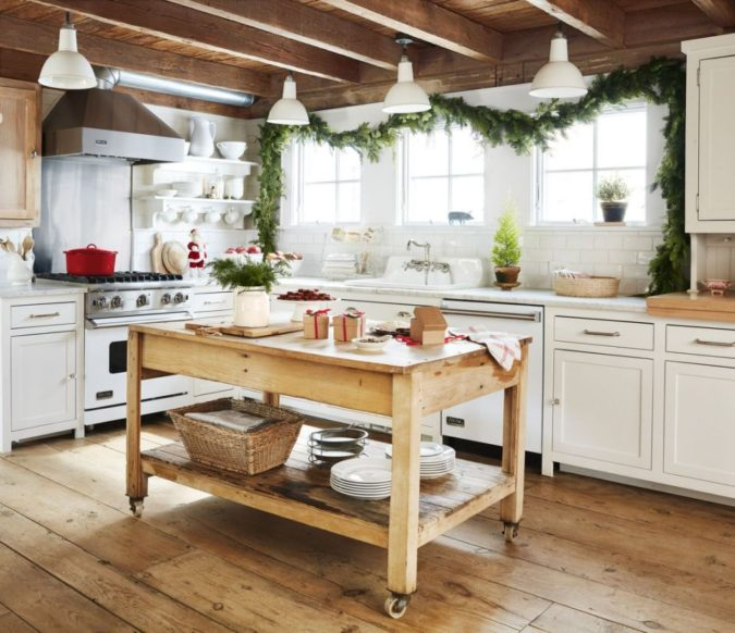 countryside-decorations.-675x582 60+Untraditional Christmas Decorations to Transform Your Home Look This Year