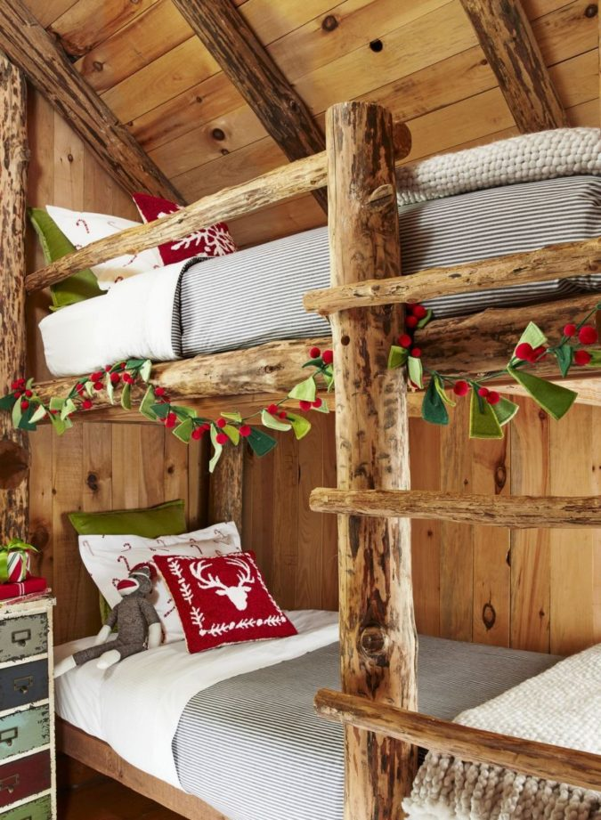 countryside-decorations..-1-675x921 60+Untraditional Christmas Decorations to Transform Your Home Look This Year