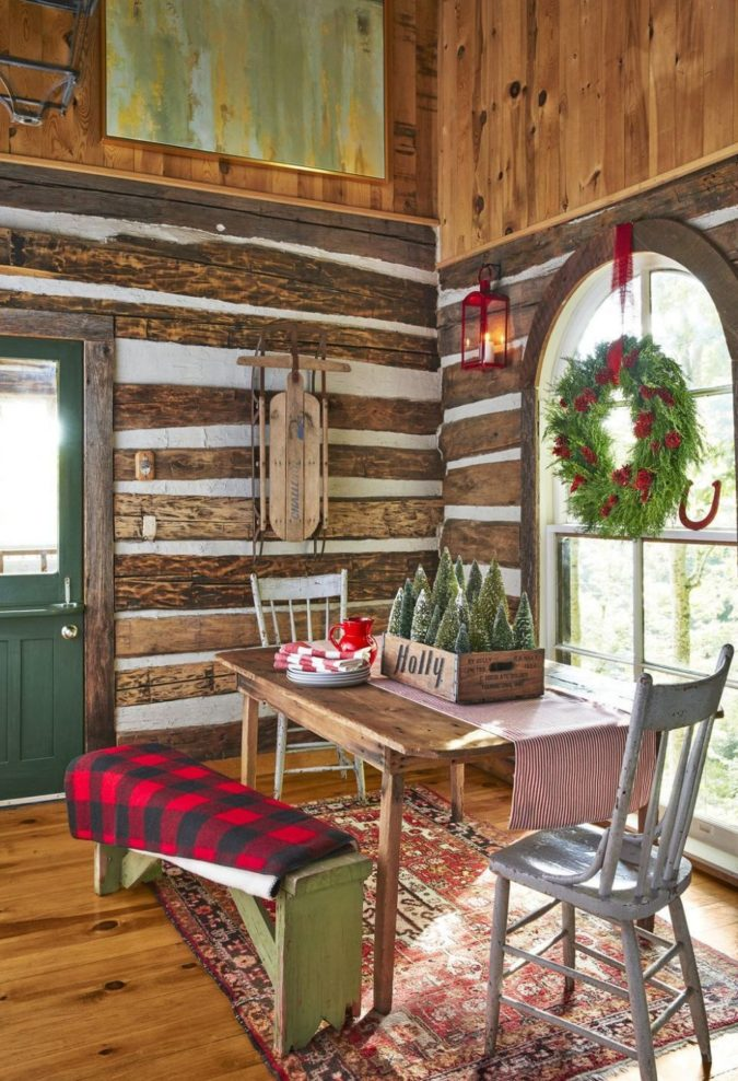 countryside-decorations...-675x988 60+Untraditional Christmas Decorations to Transform Your Home Look This Year