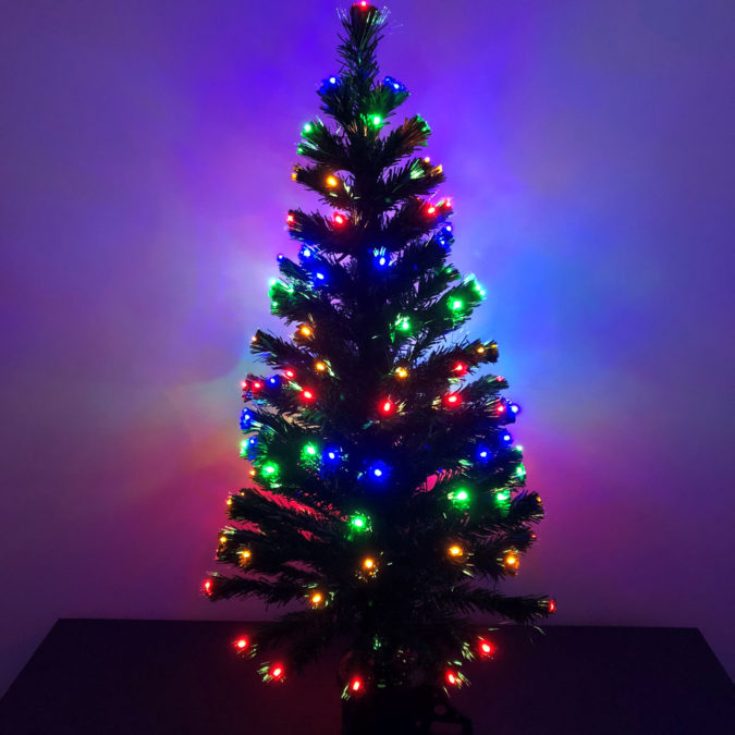 hang-christmas-lights-vertically.-1-675x675 60+Untraditional Christmas Decorations to Transform Your Home Look This Year