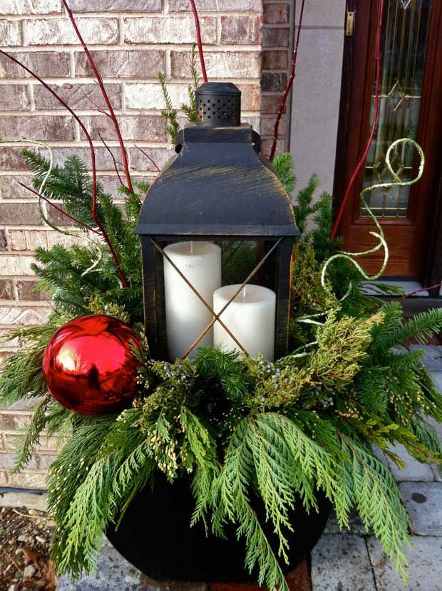 lanterns.. 70+ Brilliant Ideas for This Year Christmas Decoration