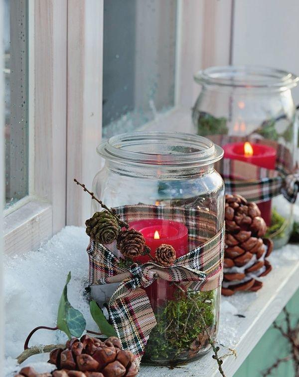 mason-jars-4 70+ Brilliant Ideas for This Year Christmas Decoration