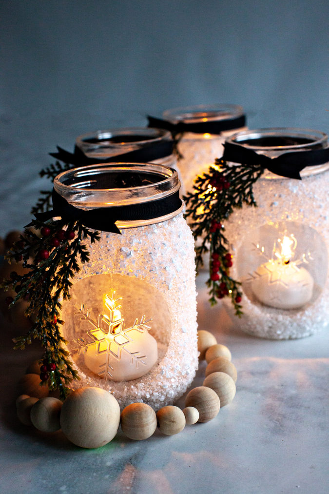 mason-jars-675x1013 70+ Brilliant Ideas for This Year Christmas Decoration
