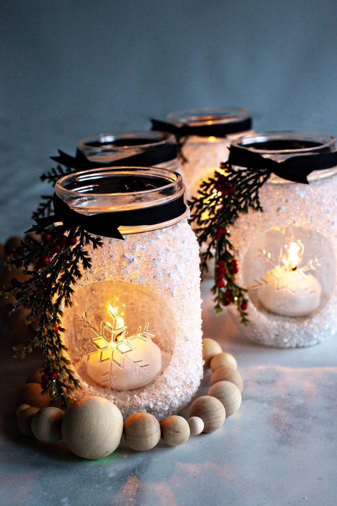 mason-jars-675x1013 70+ Brilliant Ideas for This Year Christmas Decoration