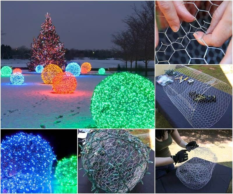 outdoors-lighting-1 70+ Impressive Christmas Decorations to Do Yourself 2020 - 2021