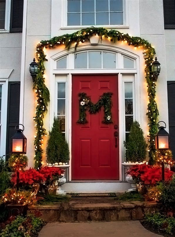 outdoors-lighting..-4 70+ Impressive Christmas Decorations to Do Yourself 2020 - 2021