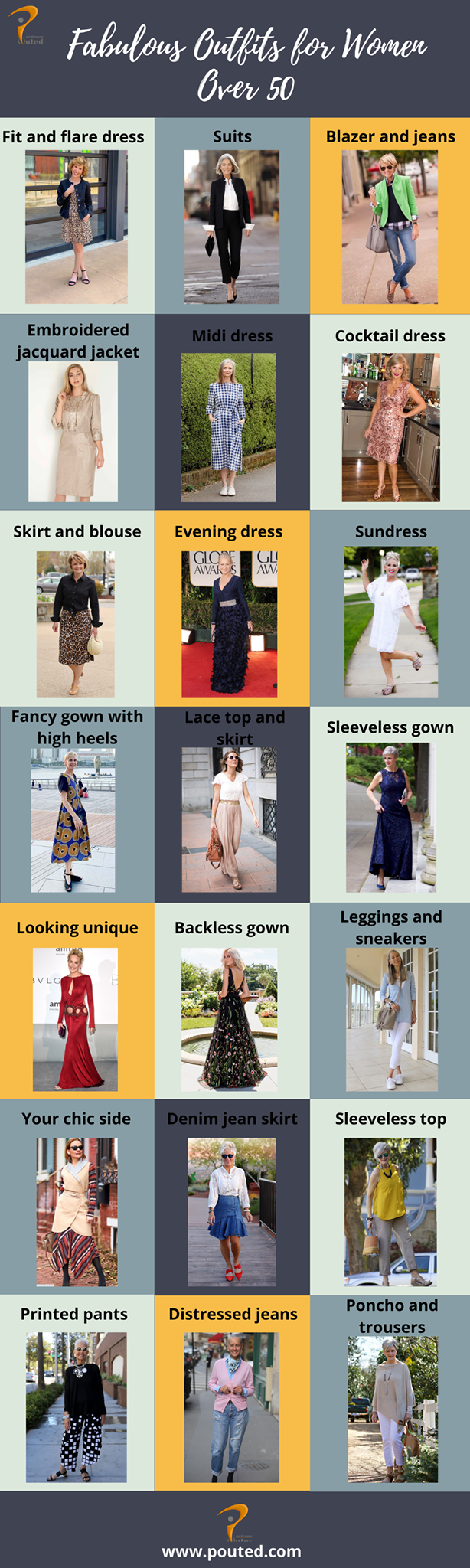 outfits_for_women_over_50 80+ Fabulous Outfits for Women Over 50