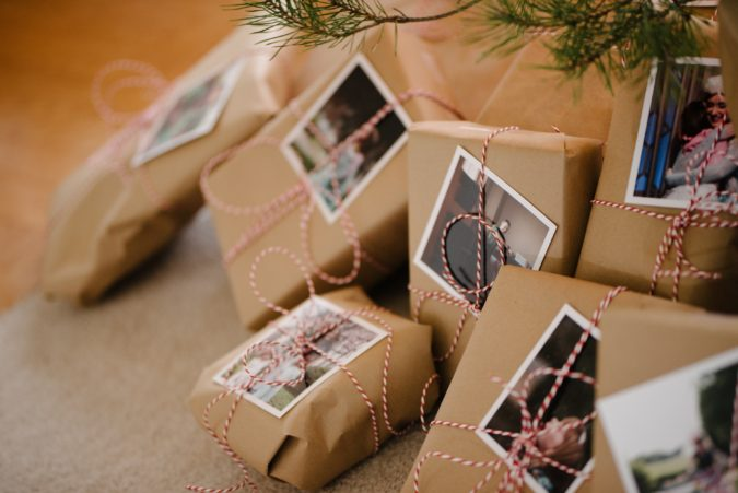 photos-on-gifts-675x451 70+ Brilliant Ideas for This Year Christmas Decoration