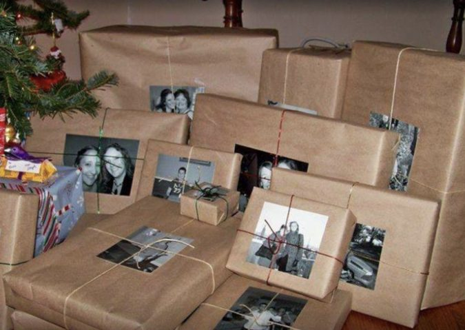 photos-on-gifts..-675x479 70+ Brilliant Ideas for This Year Christmas Decoration