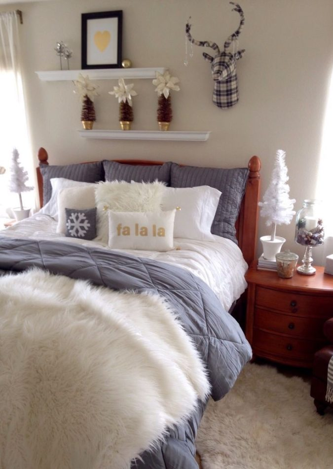 simple-Guest-Room-1-675x951 50+ Guest Room Christmas Decorations – Can You Make It Before Christmas Arriving?