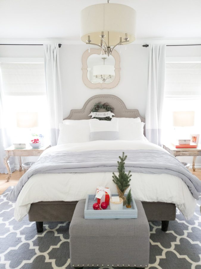 simple-Guest-Room-675x901 50+ Guest Room Christmas Decorations – Can You Make It Before Christmas Arriving?