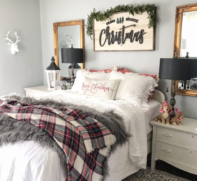 simple-Guest-Room.-7-675x618 50+ Guest Room Christmas Decorations – Can You Make It Before Christmas Arriving?
