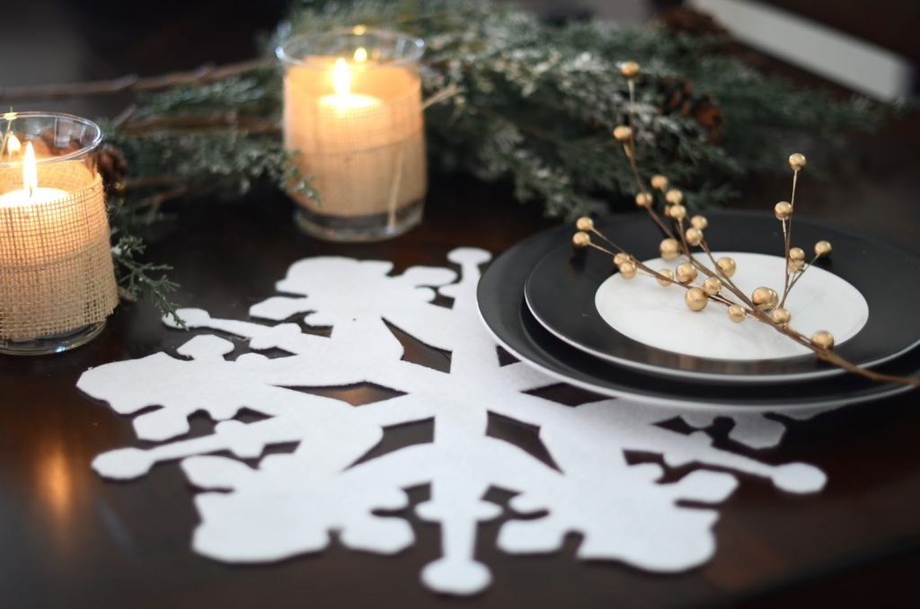 snowflakes. 70+ Brilliant Ideas for This Year Christmas Decoration