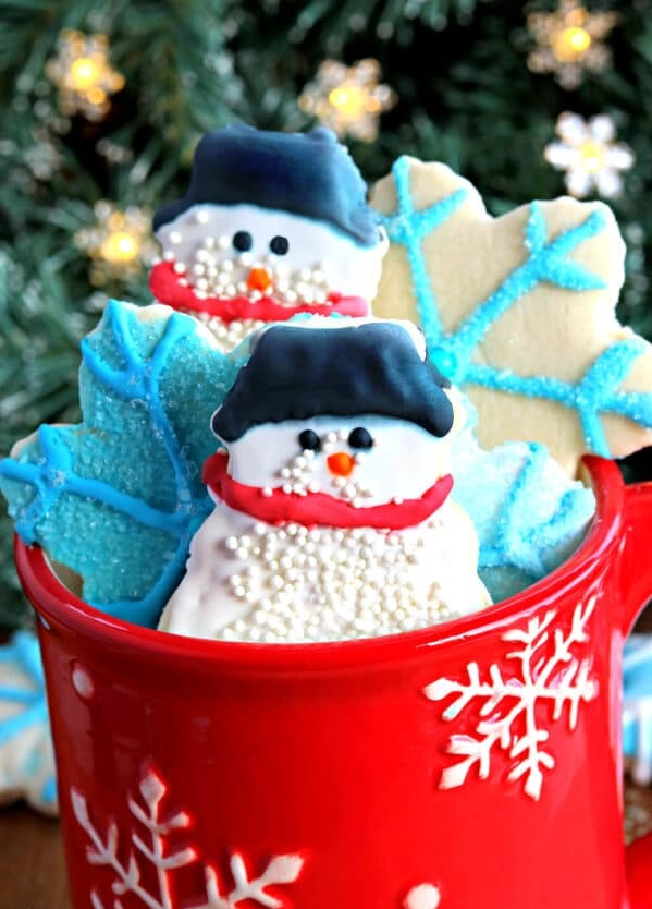 sugar-cookies. 60+Untraditional Christmas Decorations to Transform Your Home Look This Year