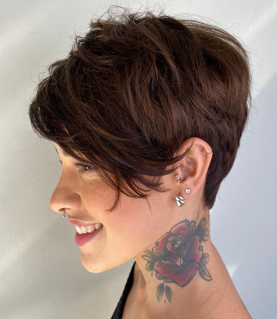 Bold-pixie-cut.. 70+ Outdated Hairstyle Ideas Coming Back in 2021