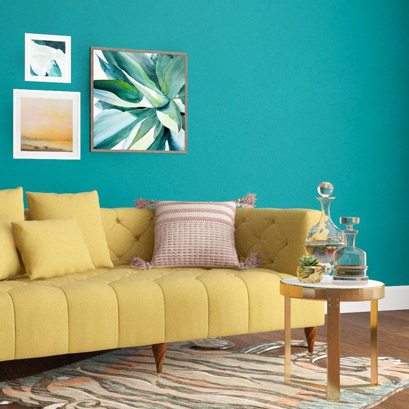 Bold-wall-colors. 70+ Outdated Decorating Trends and Ideas Coming Back in 2021