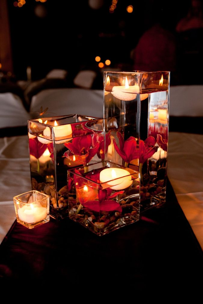 Candles-1-675x1012 70+ Hottest Marriage Anniversary Decoration Ideas at Home