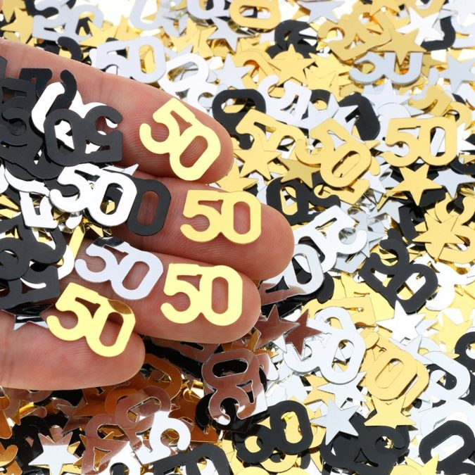 Confetti-1-675x675 70+ Hottest Marriage Anniversary Decoration Ideas at Home