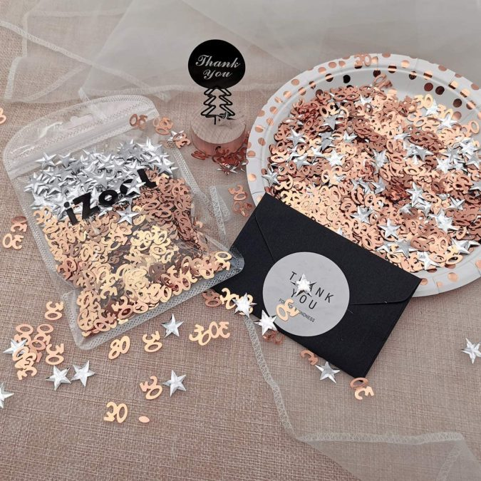 Confetti.-1-675x675 70+ Hottest Marriage Anniversary Decoration Ideas at Home