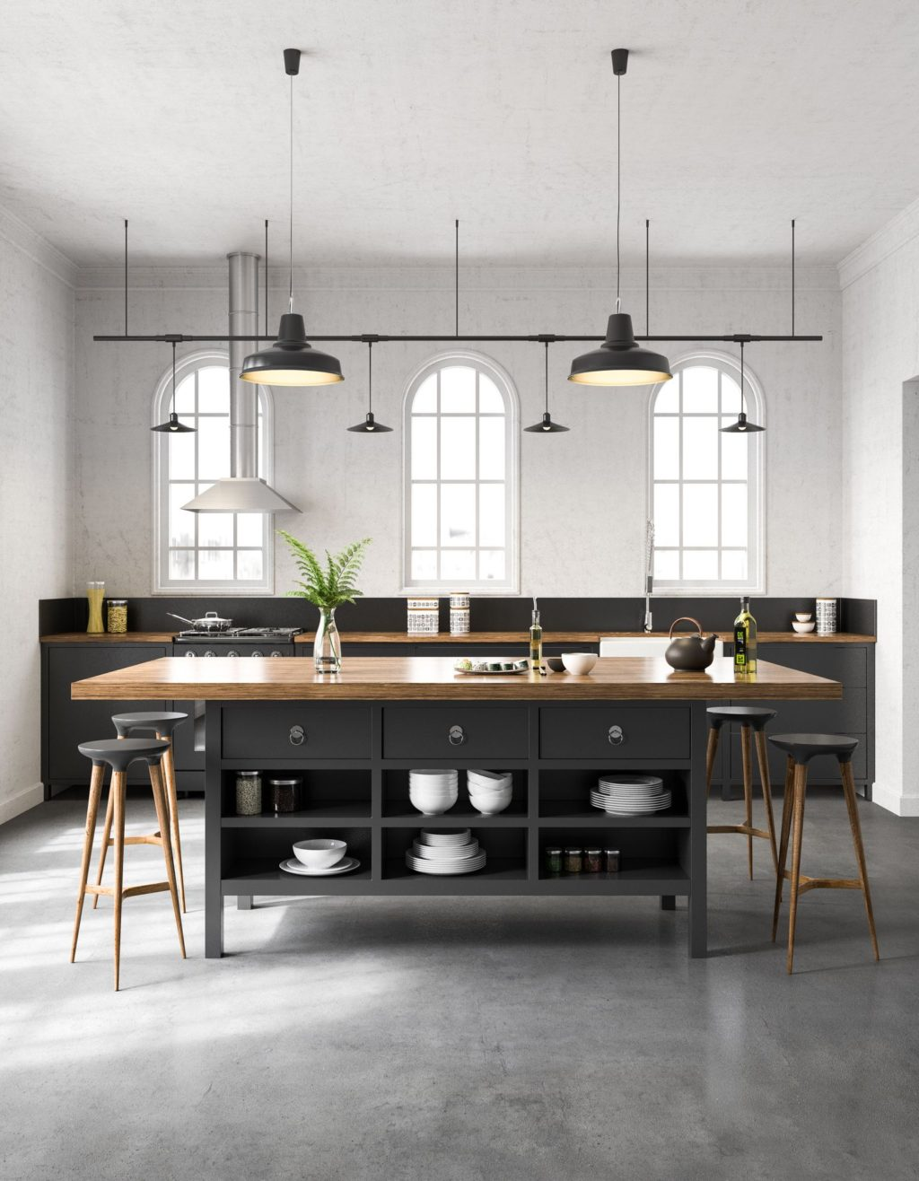 Industrial-Kitchen-1024x1316 70+ Outdated Decorating Trends and Ideas Coming Back in 2021