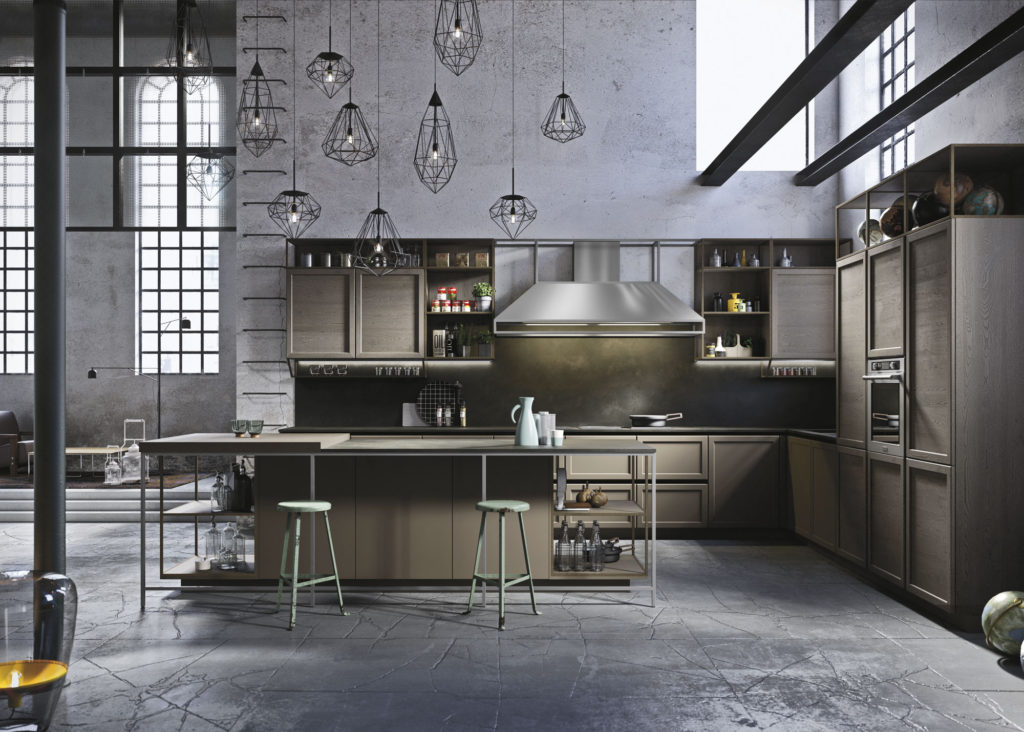 Industrial-Kitchen-7-1024x732 70+ Outdated Decorating Trends and Ideas Coming Back in 2021