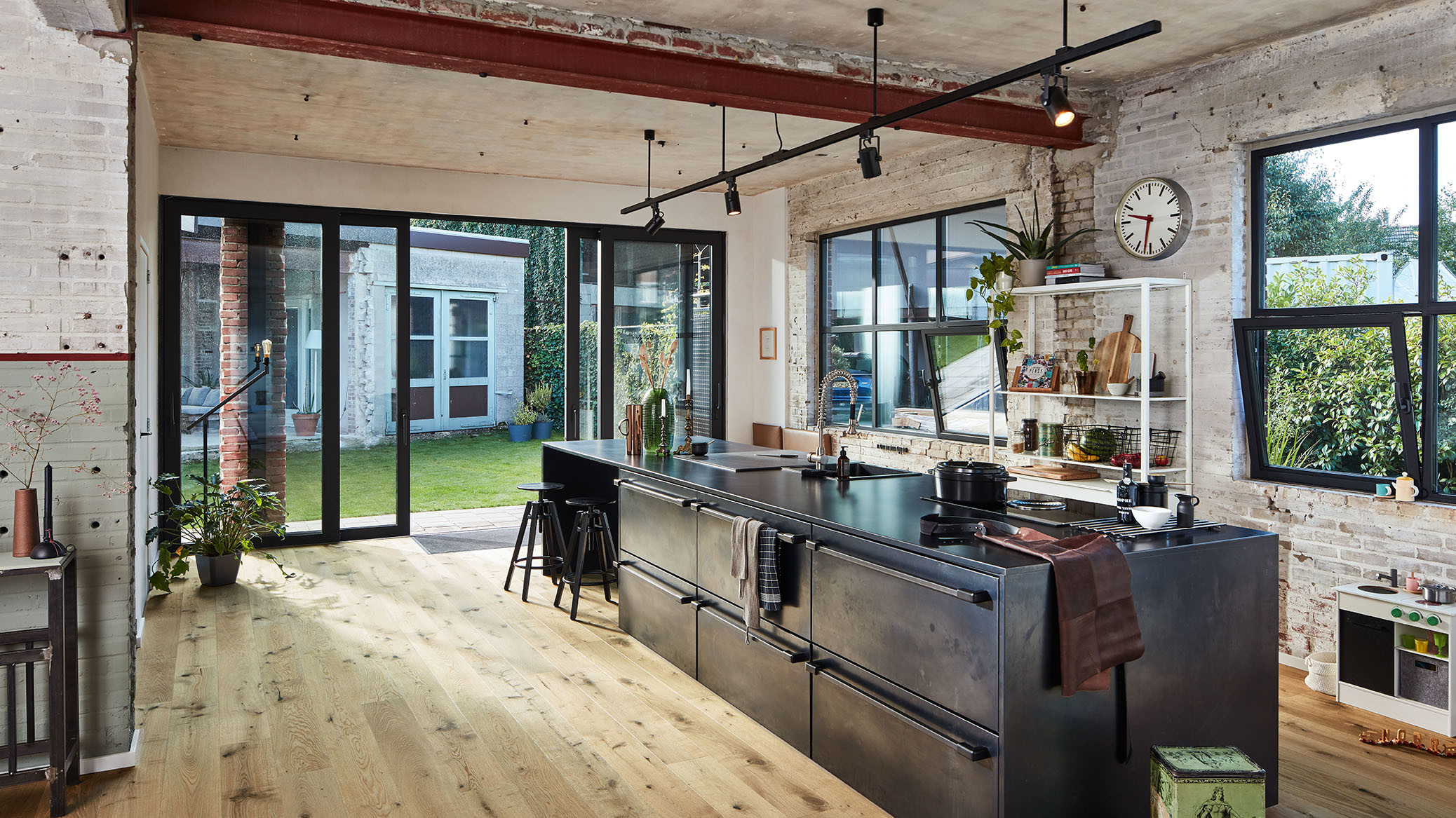 Industrial-Kitchen.-1 70+ Outdated Decorating Trends and Ideas Coming Back in 2021