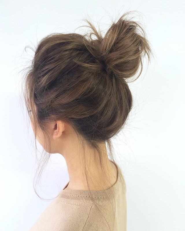 Lazy-bun. 70+ Outdated Hairstyle Ideas Coming Back in 2021