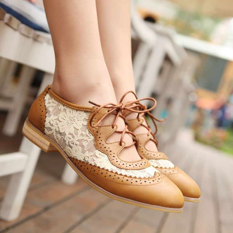 Leather-lace-up. 60+ Hottest Shoe Fashion Trends in 2021