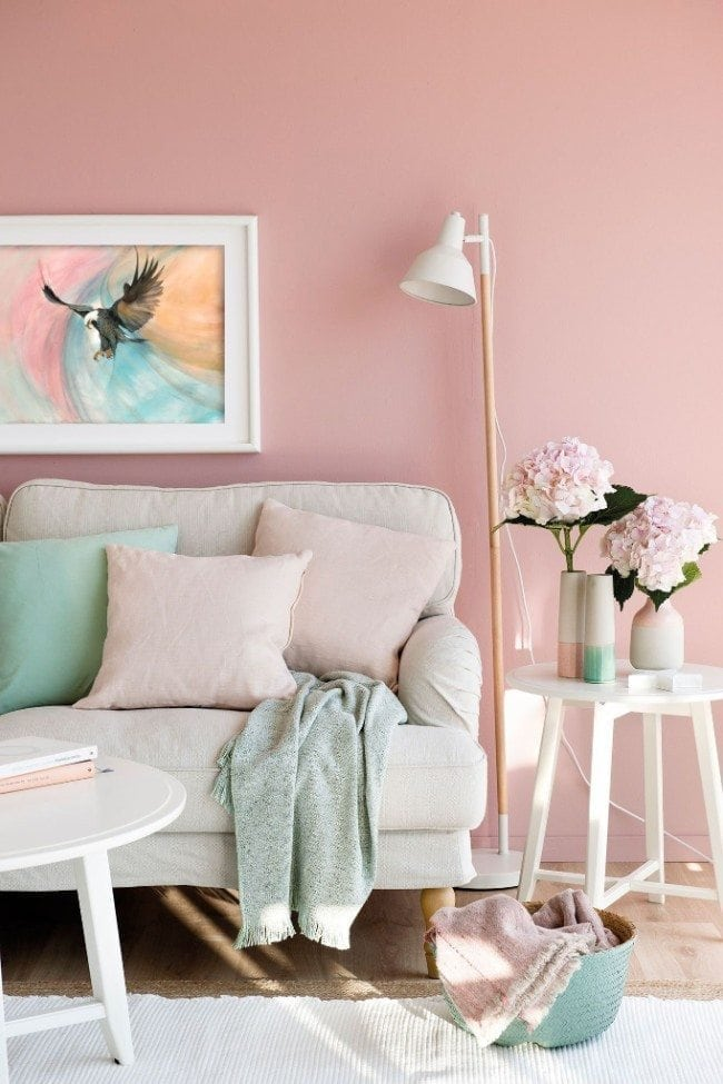 Millennial-pink 70+ Outdated Decorating Trends and Ideas Coming Back in 2021
