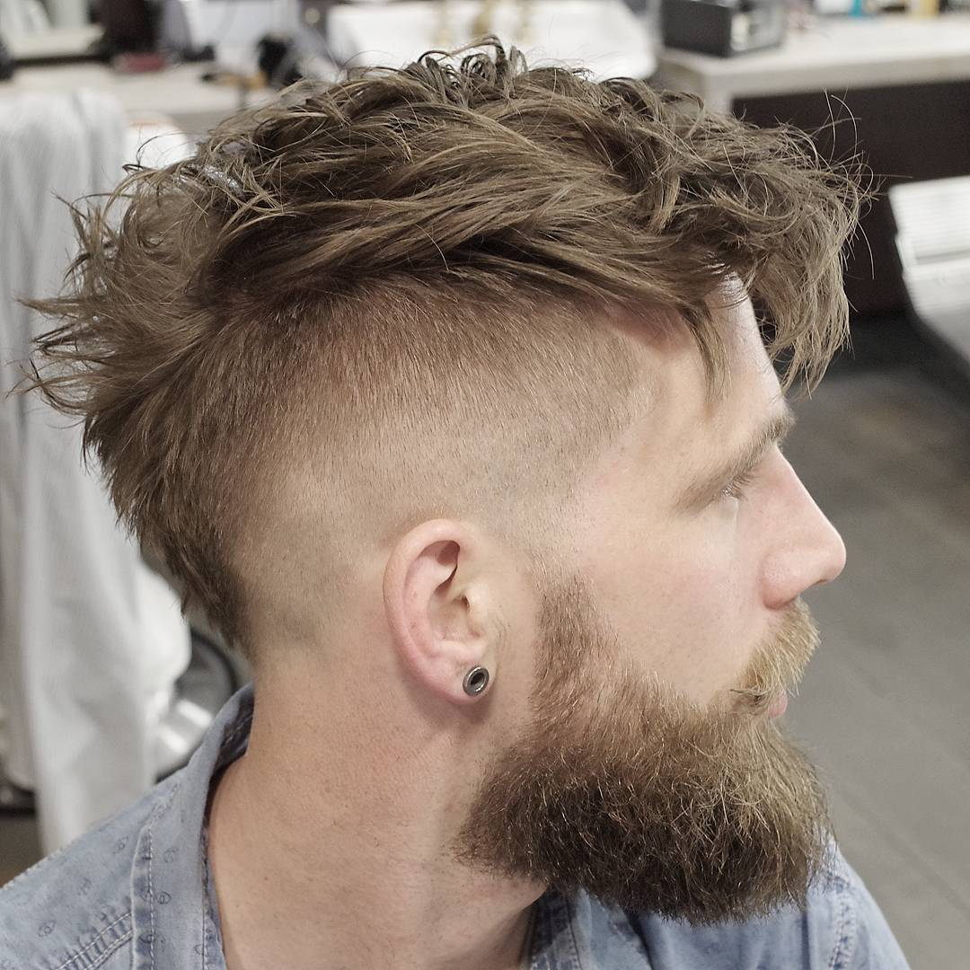 Old-school-Punk-hair-style-. 70+ Outdated Hairstyle Ideas Coming Back in 2021