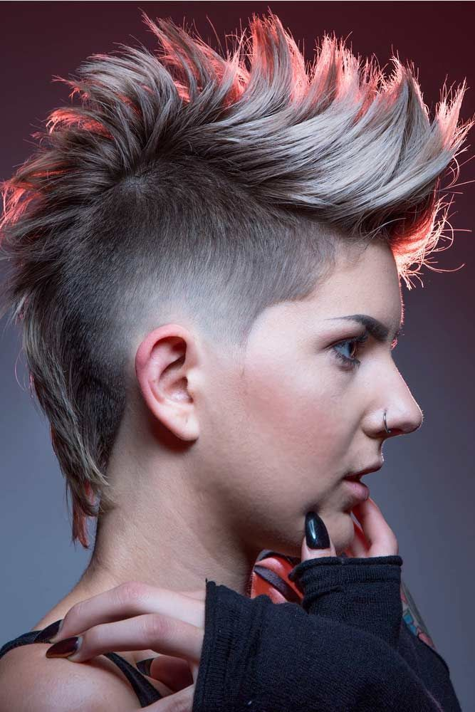Old-school-Punk-hair-style.-1 70+ Outdated Hairstyle Ideas Coming Back in 2021