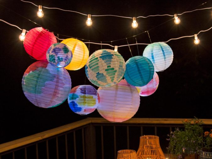 Paper-Lanterns-675x506 70+ Hottest Marriage Anniversary Decoration Ideas at Home