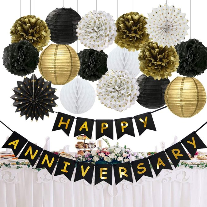 Paper-Lanterns..-1-675x675 70+ Hottest Marriage Anniversary Decoration Ideas at Home