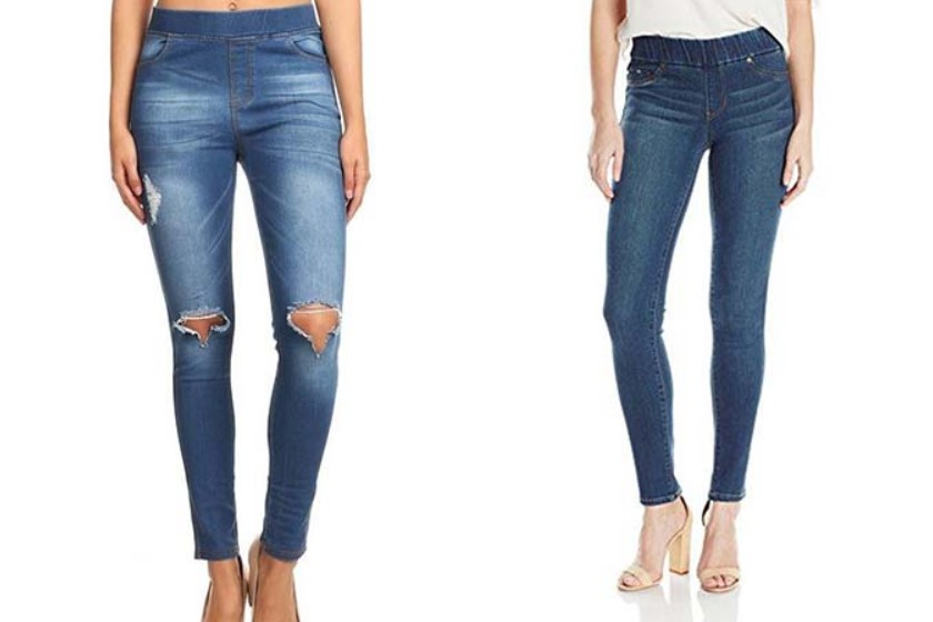 Putting-super-stretchy-jeans Biggest 10 Fashion Mistakes Instantly Age You